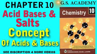 Jabir Bin Hayan concept of acids, Lavoisier concept of acids, Hamphry Davi concept of acids,