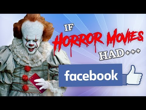 IF HORROR MOVIES HAD FACEBOOK
