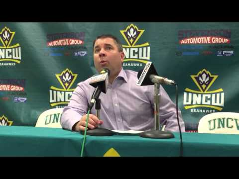 Coach Pat Skerry Post-Game Interview: Feb. 27 at UNCW