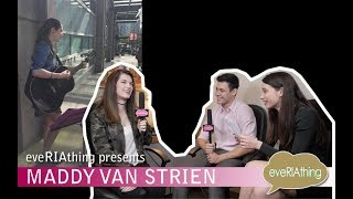 Singer, songwriter, musician Maddy Van Strien is featured on the show!