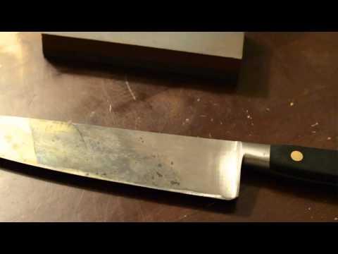 Sabatier 10inch Chefs Knife Part 1