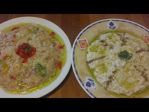 0 Salată caldă de vinete, rodii și ceapă