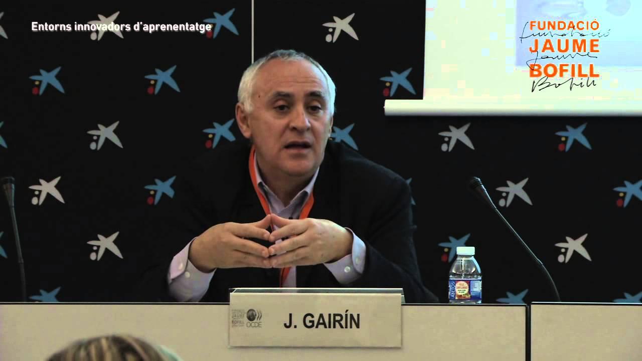 """Conferència: """"Lideratge i gestió dels equips docents"""", per Joaquín Gairín"""
