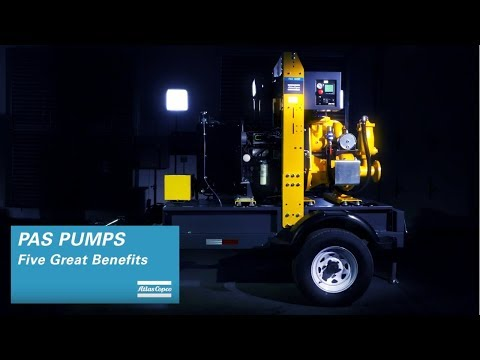PAS diesel dewatering pumps: five great reasons to invest, by Atlas Copco - zdjęcie