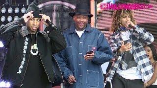 YG, Tyga & Jon Z Attend Soundcheck Before Their Performance On Jimmy Kimmel Live! 5.6.19