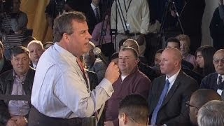 Gov. Christie gets into heated healthcare exchange