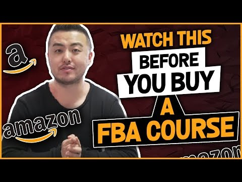 AMAZON FBA COURSE - WHO ARE YOU LEARNING AMAZON FBA FROM?! #RANT