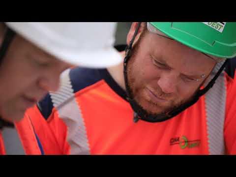 Réalisation d'un chantier de terrassement en sécurité