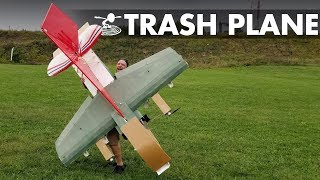We Made an Airplane Out of Crashed Airplanes