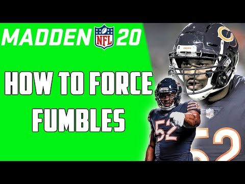 MADDEN NFL 20 DEFENSIVE TIPS: HOW TO TACKLE AND STRIP THE BALL | WIN MORE GAMES NOW!