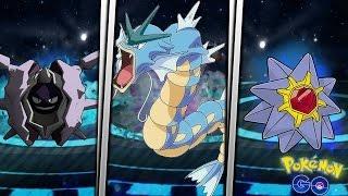 Cloyster  - (Pokémon) - LAS MEJORES EVOLUCIONES EN POKEMON GO DE TIPO AGUA | GYARADOS, CLOYSTER, STARMIE