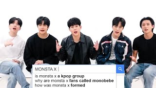MONSTA X Answer the Web's Most Searched Questions   WIRED