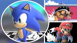 Who Can Defeat Sonic In A Race in Super Smash Bros Ultimate? (All Characters Vs Sonic)