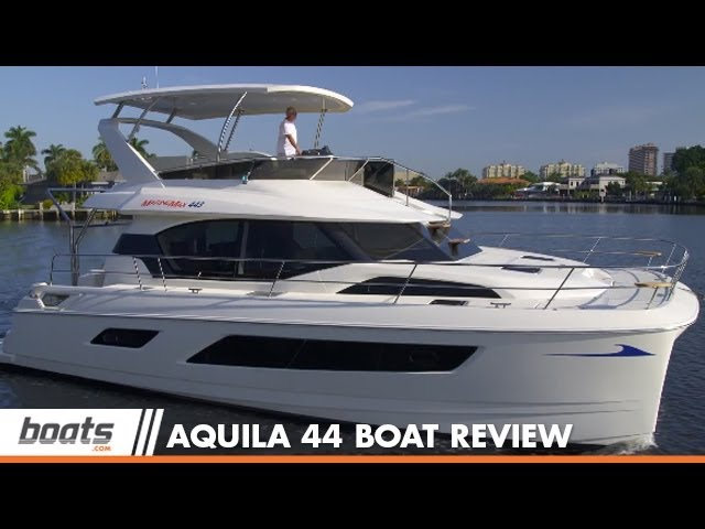 Aquila 44 Power Catamaran: Boat Review / Performance Test
