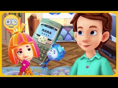 Детский уголок|Kids'Corner * Фиксики и мобильный телефон. Интуиция Димдимыча. Игры на Kids PlayBox