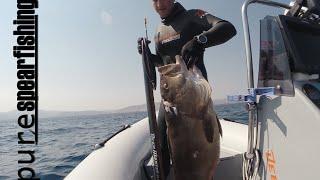 "Pure Spearfishing-Spearfishing Show With Manolis Giankos-EP.8-""Petalioi Islands"""