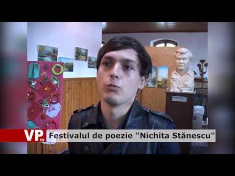 """Festivalul de poezie """"Nichita Stănescu"""""""