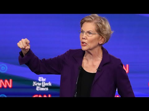 Elizabeth Warren Says the Election Is About Donald Trump
