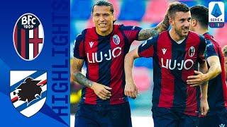 Bologna 2-1 Sampdoria | Palacio and Bani Score to Give Bologna the Win | Serie A
