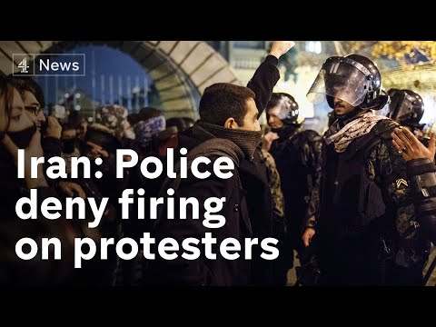 Iran: Police deny using live ammo on Tehran protesters
