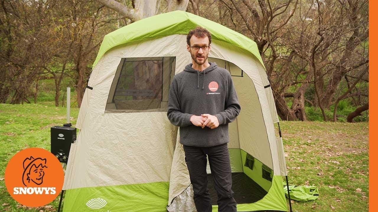 Double  Ensuite Shower Tent