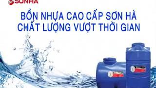 Bồn nước Inox Sơn Hà 3000L ngang (Φ1140)
