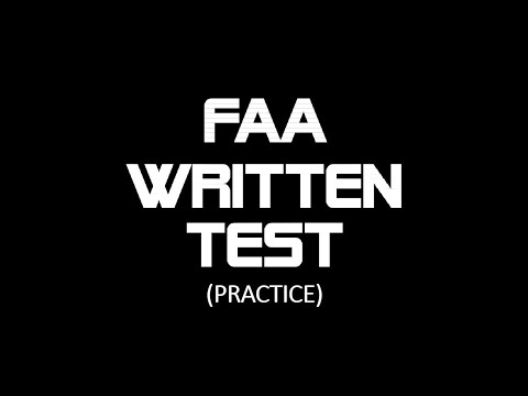 FAA Written Test Practice HOGS Member Question No. 3 - YouTube