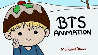 BTS Animation - Have A Merry Bangtan Christmas!
