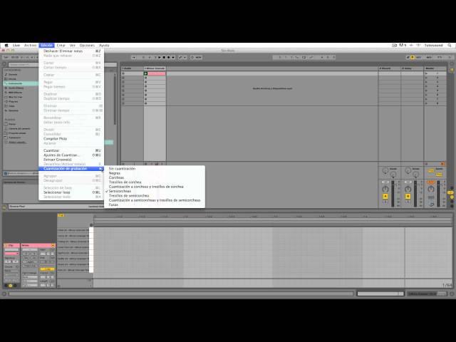 Ableton Live - Tutorial 08 : Caja de ritmos