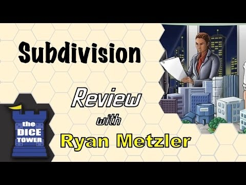 Dice Tower Reviews: Subdivision