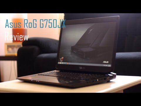 Asus RoG G750JX Full Review - Lamborghini Inspired Laptop?