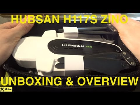 Hubsan Zino Unboxing - Courtesy of Banggood