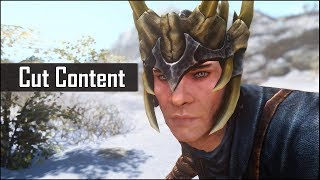 Skyrim's Cut Content: A Further Look at What Could've Been in The Elder Scrolls 5 (Part 6)