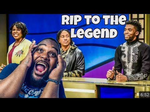 Black Jeopardy with Chadwick Boseman   SNL! REACTION