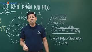 Tháo gỡ khó khăn khi học Vật lí 11. Thầy Phạm Quốc Toản