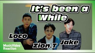 Gambar cover MV] Loco(로꼬) _ It's been a while(오랜만이야) (Feat. Zion.T) [Reaction]