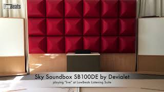 Sky Soundbox SB100DE by Devialet – LowBeats Soundcheck (binaural)