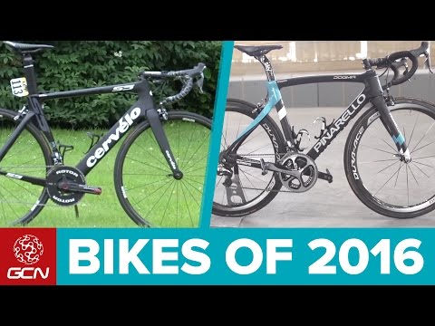 Top 10 Most Successful Road Bikes Of 2016 – GCN's World Tour Of Bikes