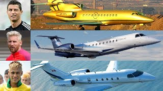 Most Expensive & Luxurious Private Jet Of Football Players