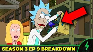 "Rick and Morty BREAKDOWN - 3x09 ""ABC"