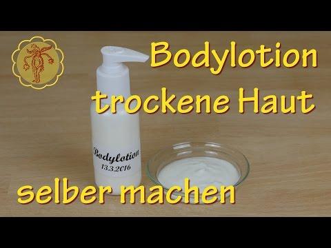 Bodylotion für trockene Haut selber machen