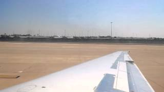 American Airlines MD83 Takeoff from DFW