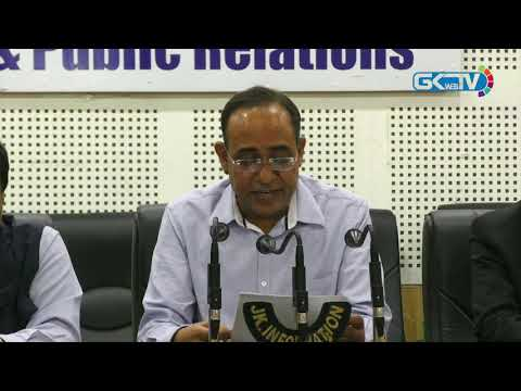 Rohit Kansal addresses media after SAC decision on creation of new posts for Ladakh division