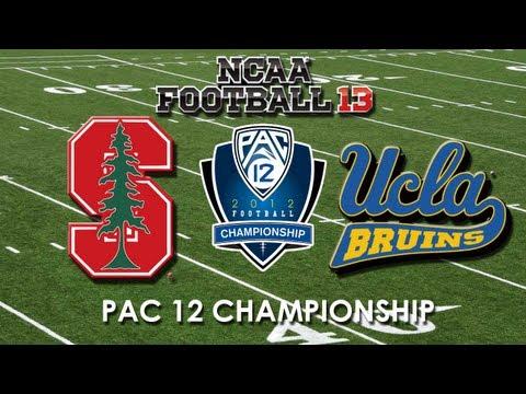 2012 PAC 12 CHAMPIONSHIP: UCLA BRUINS VS. STANFORD CARDINAL - NCAA 13