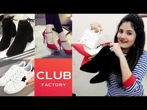 CLUB FACTORY || Casual Shoes, High Heels and Ankle Boots Haul and Review| Worth Or Waste ?