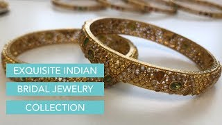 Exquisite Indian Bridal Jewelry Collection