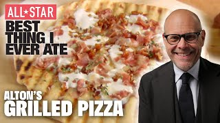 Alton Browns Grilled Pizza   ALL-STAR Best Thing I Ever Ate