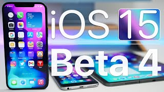 iOS 15 Beta 4 is Out! - What's New?