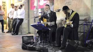"Video thumbnail of ""Jewish men singing Pink Floyd's ""Wish You Were Here"""""