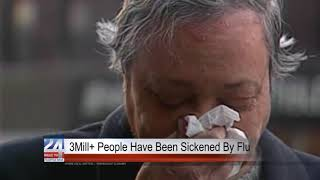 Millions of Americans Affected by Flu This Year